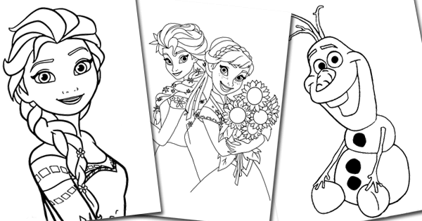 pictures of frozen to color frozen coloring pages only coloring pages color pictures to of frozen