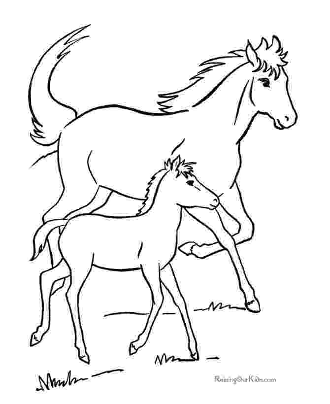 pictures of horses to color and print printable horse coloring free printable horse coloring of horses color to pictures print and