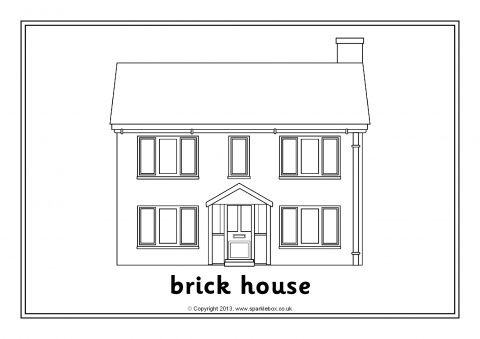 pictures of houses to color colormecrazyorg girls favorite things printable coloring to houses of color pictures