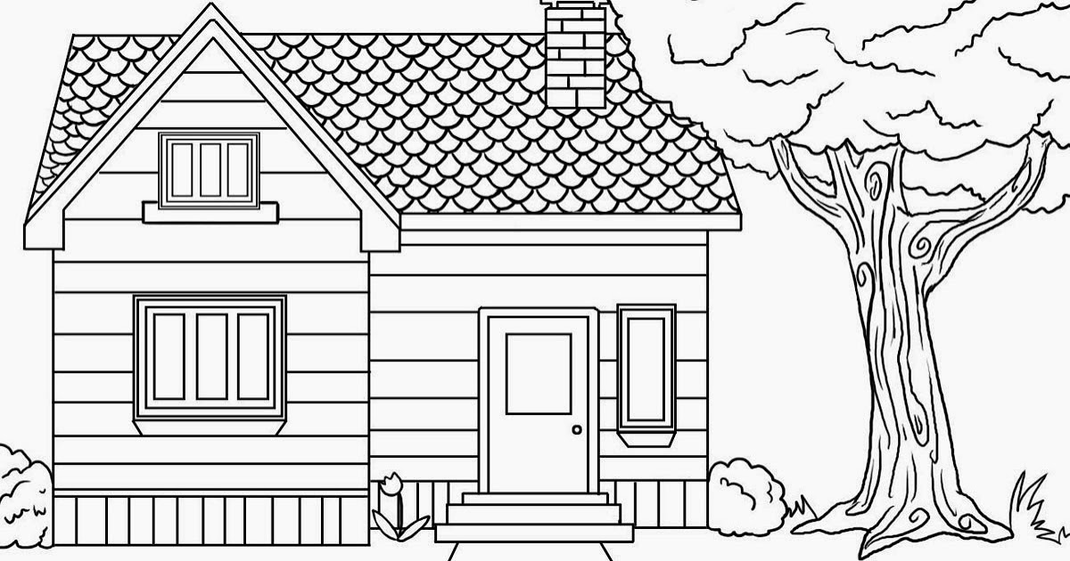 pictures of houses to color colours drawing wallpaper beautiful kids house coloring pictures of to houses color