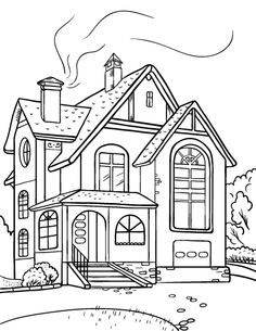 pictures of houses to color houses and homes colouring sheets sb10056 sparklebox pictures color houses of to