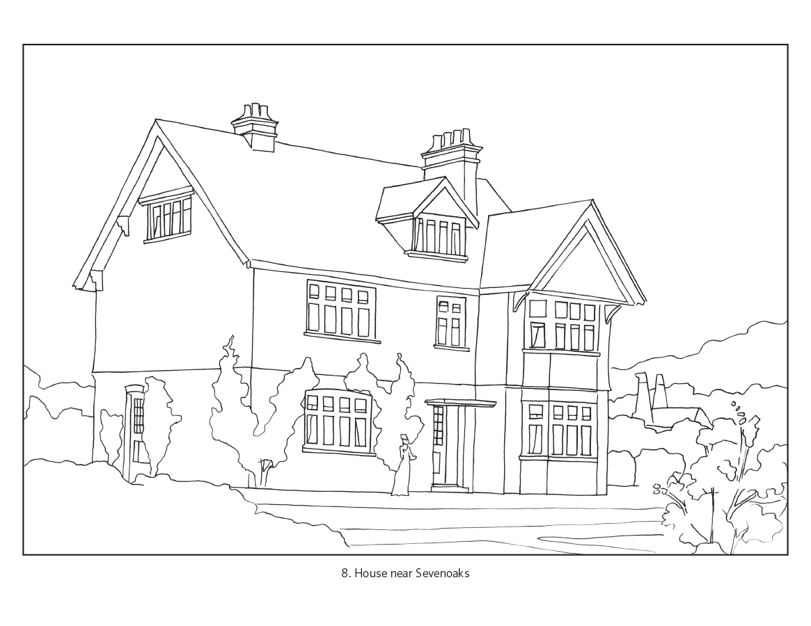 pictures of houses to color scary haunted house coloring pages download and print for free of pictures to houses color