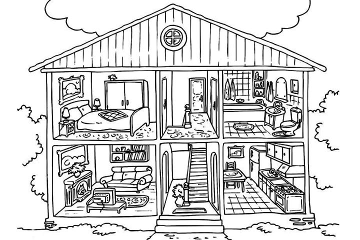 pictures of houses to color victorian houses coloring pages download and print for free to pictures color of houses