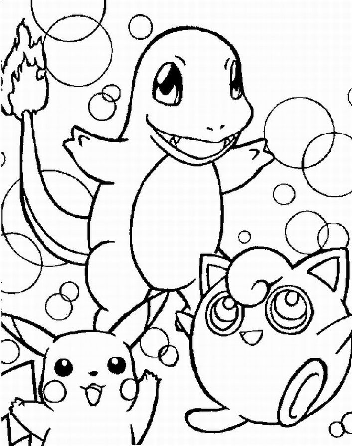 pictures of pokemon to color very funny pokemon anime coloring pages for kids pictures of to color pokemon