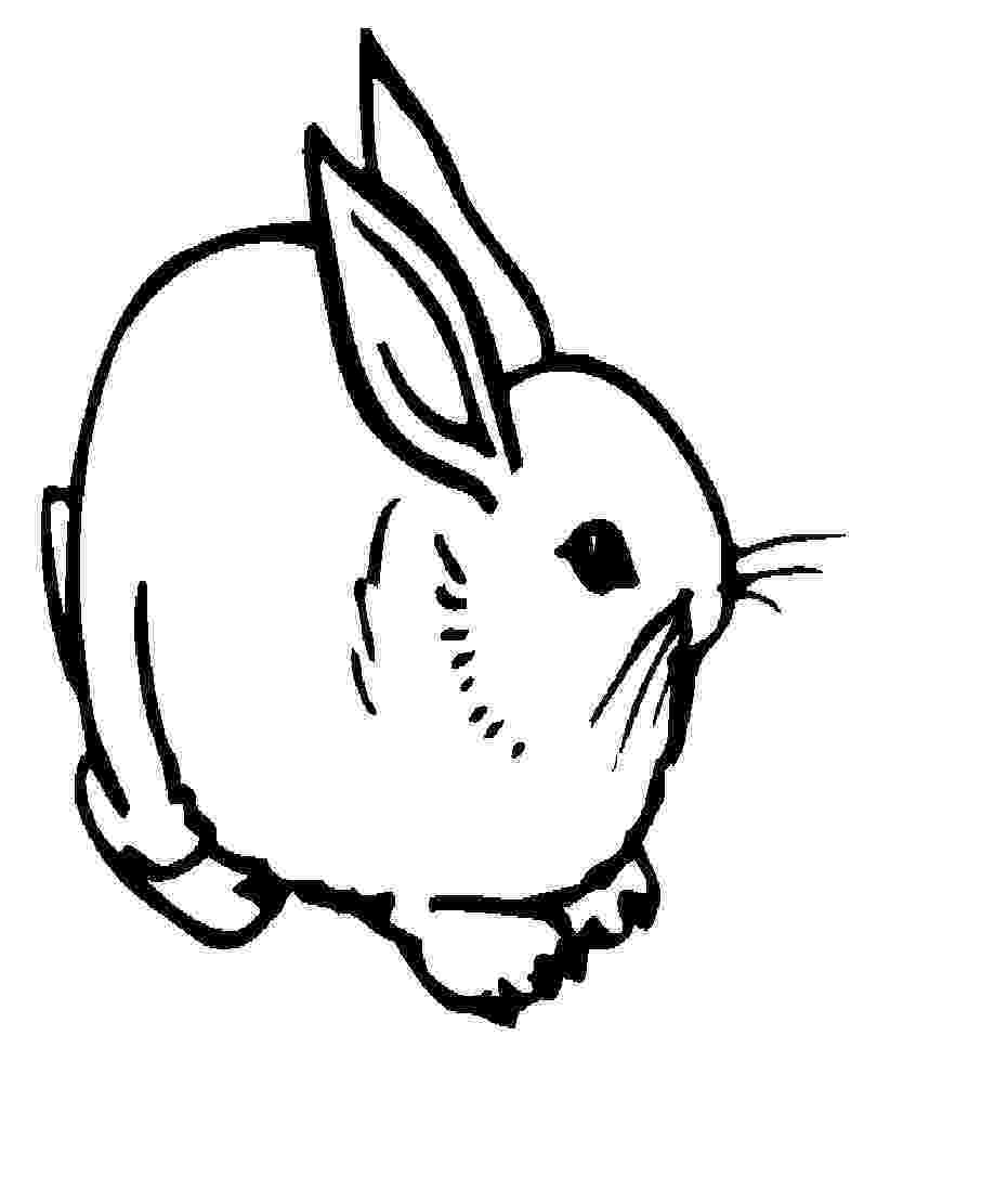 pictures of rabbits for kids fluffy easter bunny coloring page for kids coloring pages kids rabbits for pictures of