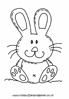 pictures of rabbits for kids rabbit large cute colouring kids puzzles and games pictures of kids rabbits for