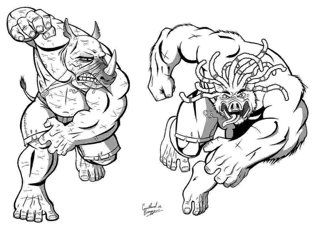pictures of the ninja turtles beebop and rocksteady by ninja turtles on deviantart ninja pictures turtles of the