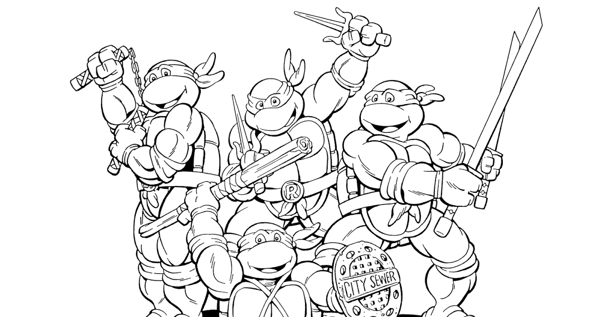 pictures of the ninja turtles craftoholic teenage mutant ninja turtles coloring pages the turtles ninja of pictures