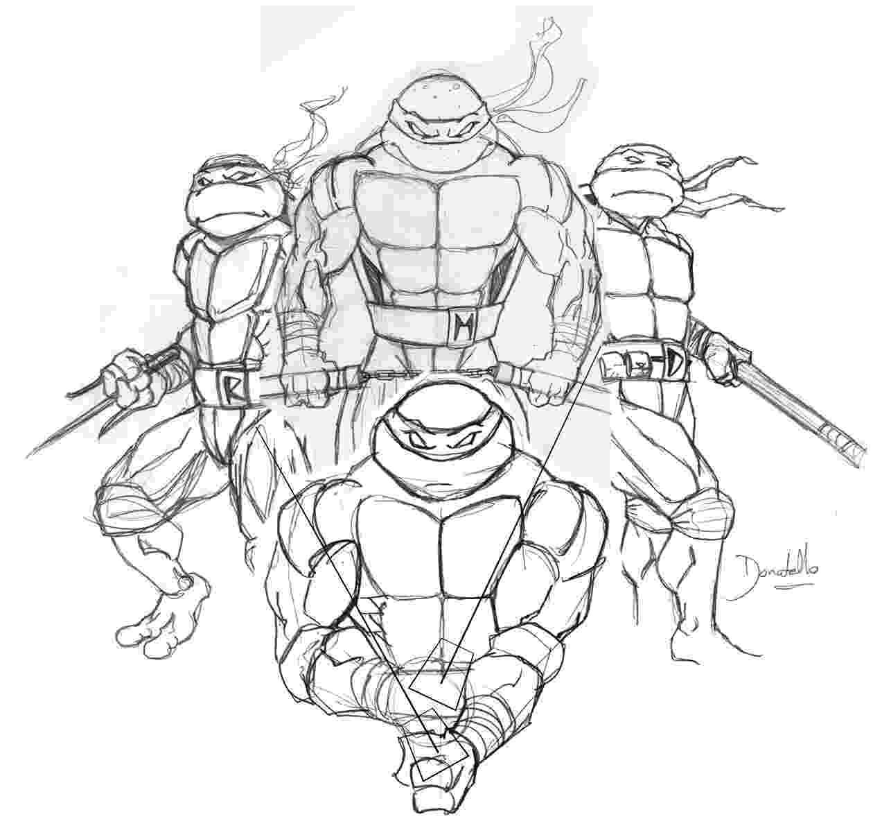 pictures of the ninja turtles teenage mutant ninja turtles fake cover inks by erdna1 pictures the of ninja turtles