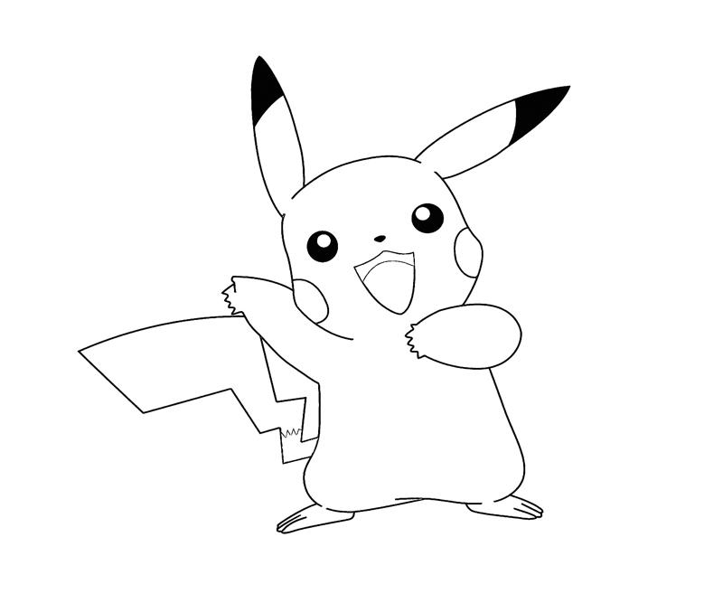 pikachu coloring page pikachu 3 coloring crafty teenager pikachu page coloring 1 1