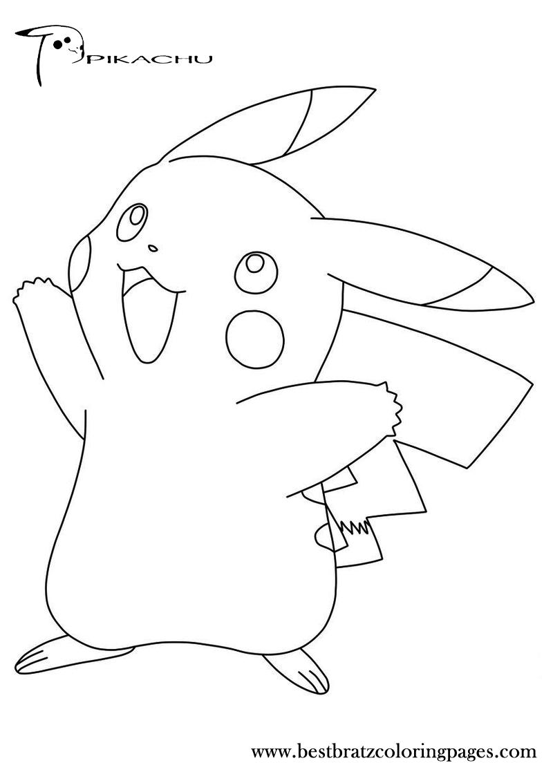 pikachu coloring page pikachu coloring pages page pikachu coloring 1 1