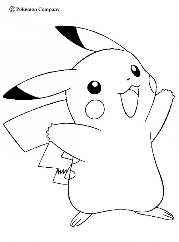 pikachu coloring page pokemon coloring pages quot pikachu page pikachu coloring