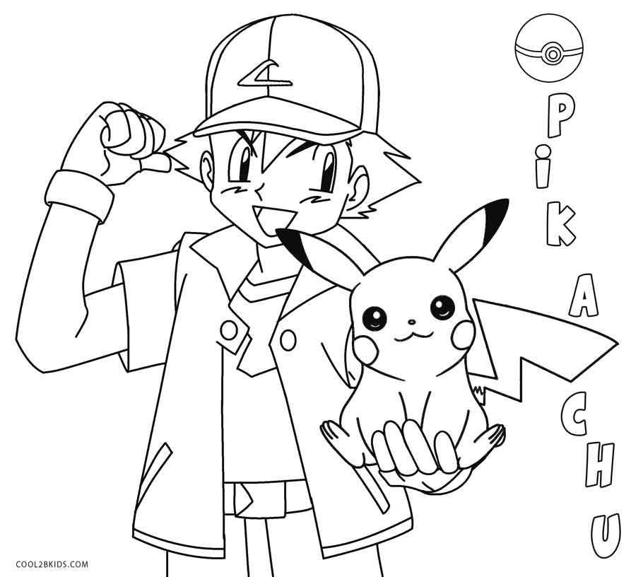 pikachu coloring page printable pikachu coloring pages for kids cool2bkids pikachu coloring page