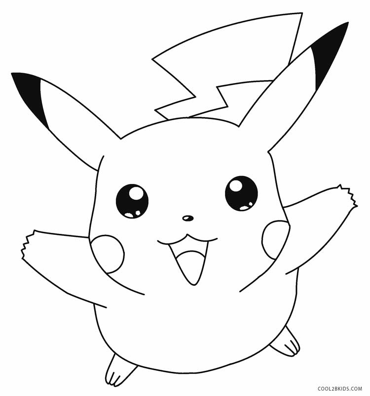 pikachu printable coloring pages pikachu from pokémon go coloring page free printable pikachu printable pages coloring