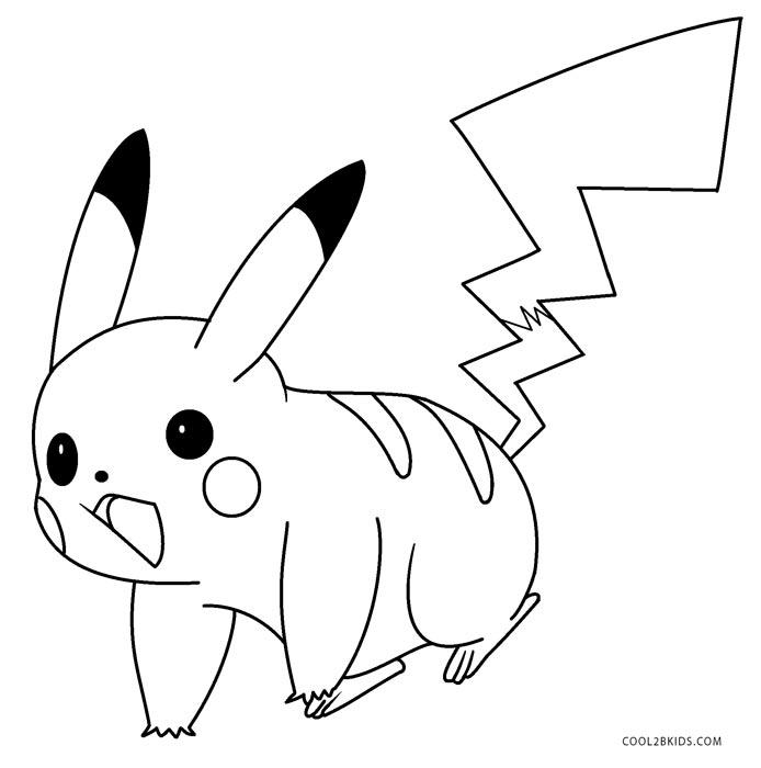 pikachu printable coloring pages printable pikachu coloring pages for kids cool2bkids coloring pikachu printable pages