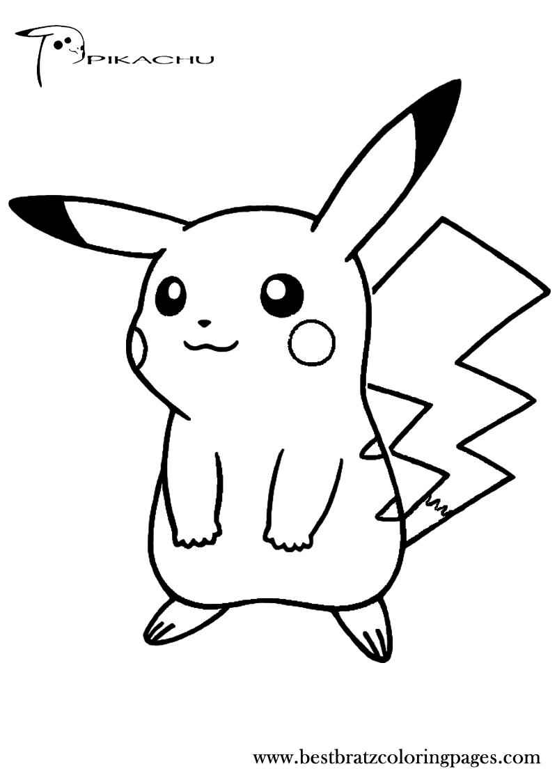 pikachu to color video game coloring pages cool2bkids pikachu color to