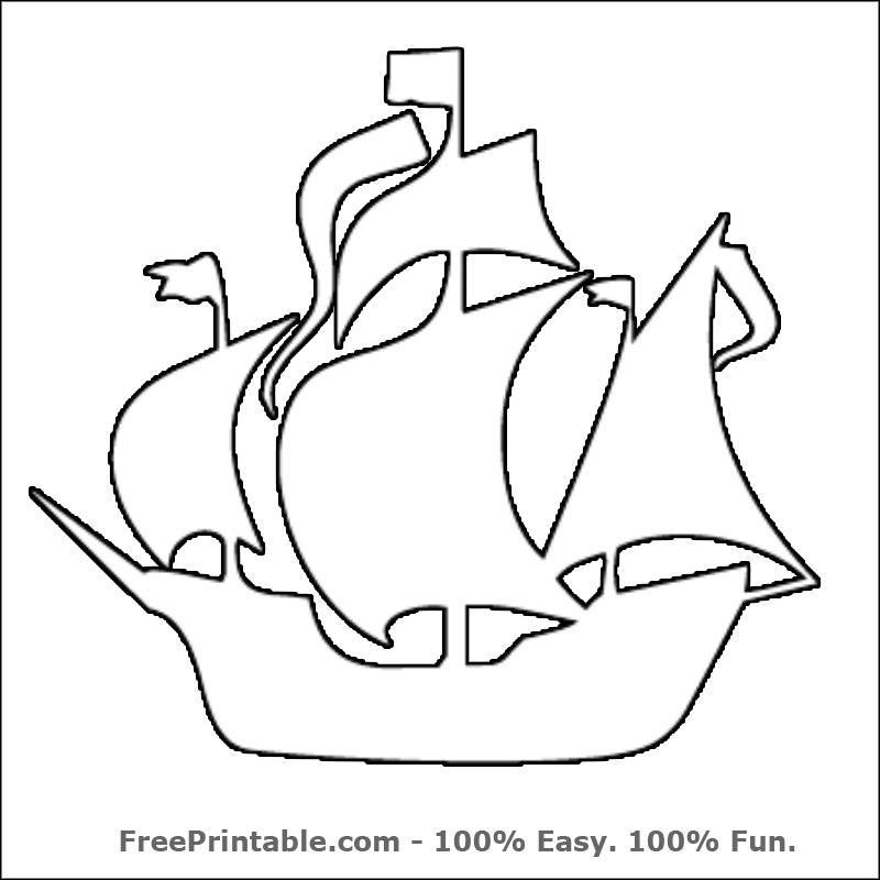pirate ship template printable boat template printable printable 360 degree printable template pirate ship