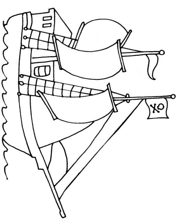 pirate ship template printable cartes au trésors pour les enfants printable ship pirate template