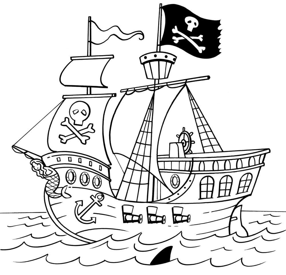 pirate ship template printable pirate ship drawing template the ship wheel is a vector ship pirate template printable