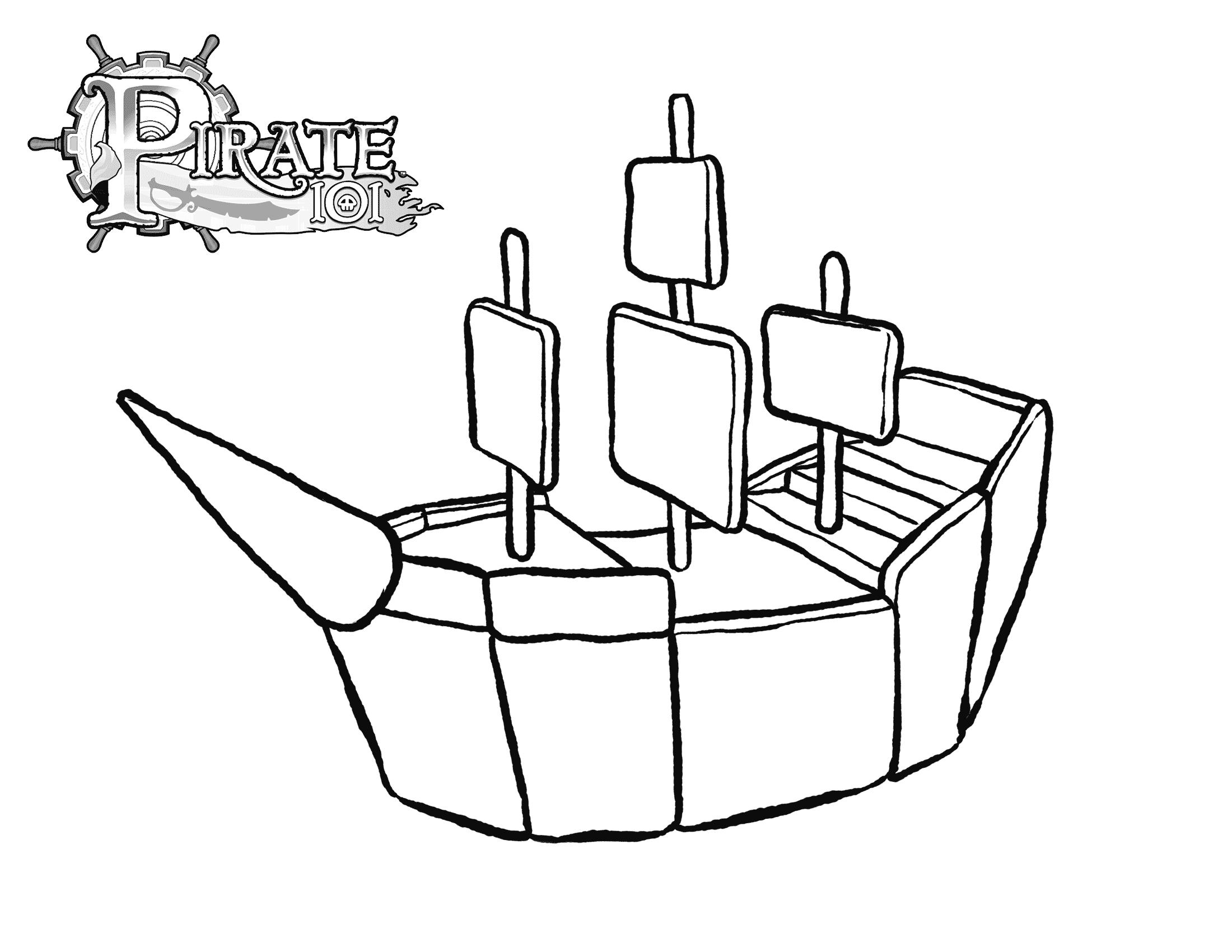 pirate ship template printable pirate skull and sword coloring page coloring pages template pirate ship printable
