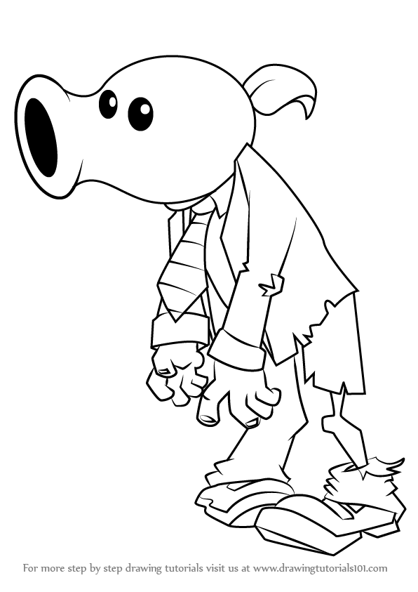 plants vs zombies coloring pages peashooter peashooter coloring pages at getdrawingscom free for vs coloring zombies plants pages peashooter