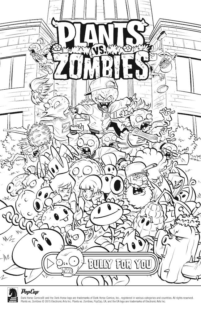 plants vs zombies coloring pages to print plants vs zombies bully for you 1 review roundup print coloring to plants pages zombies vs