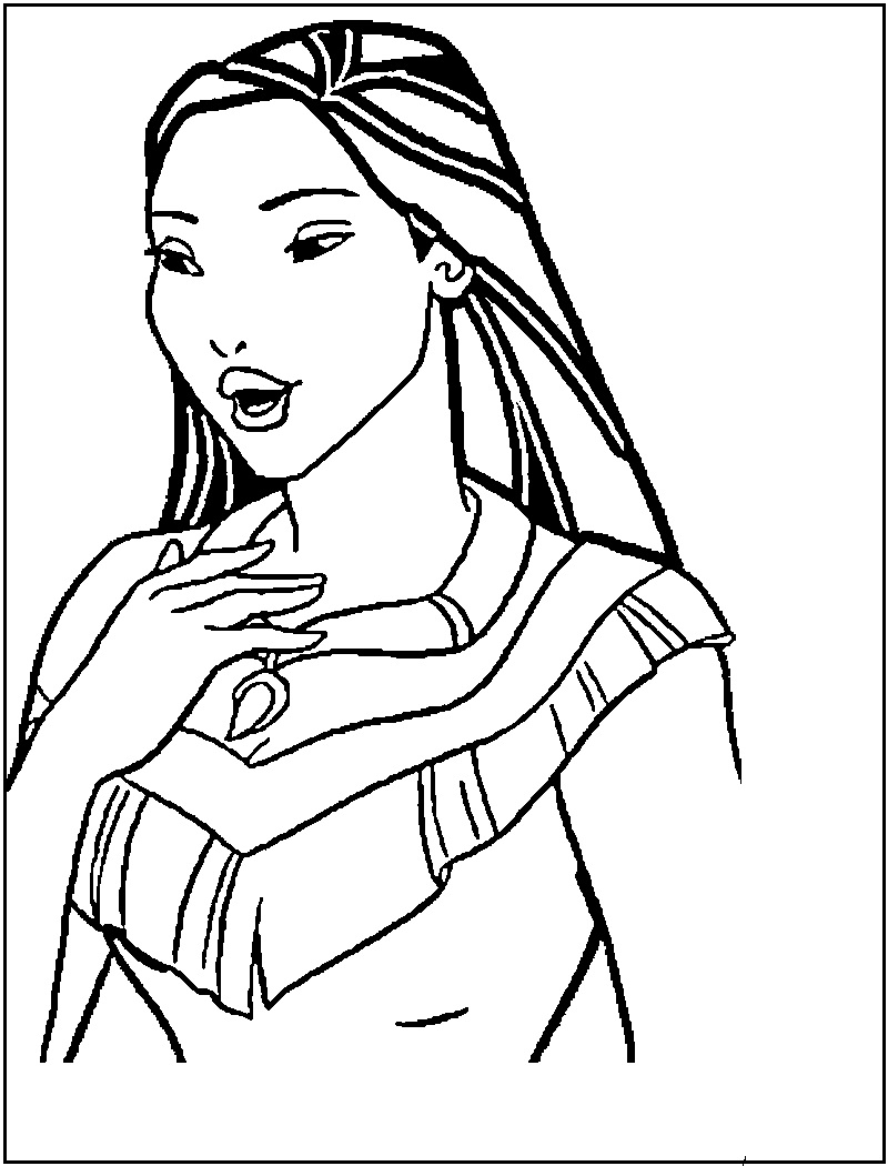 pocahontas colouring pages free printable pocahontas coloring pages for kids colouring pocahontas pages