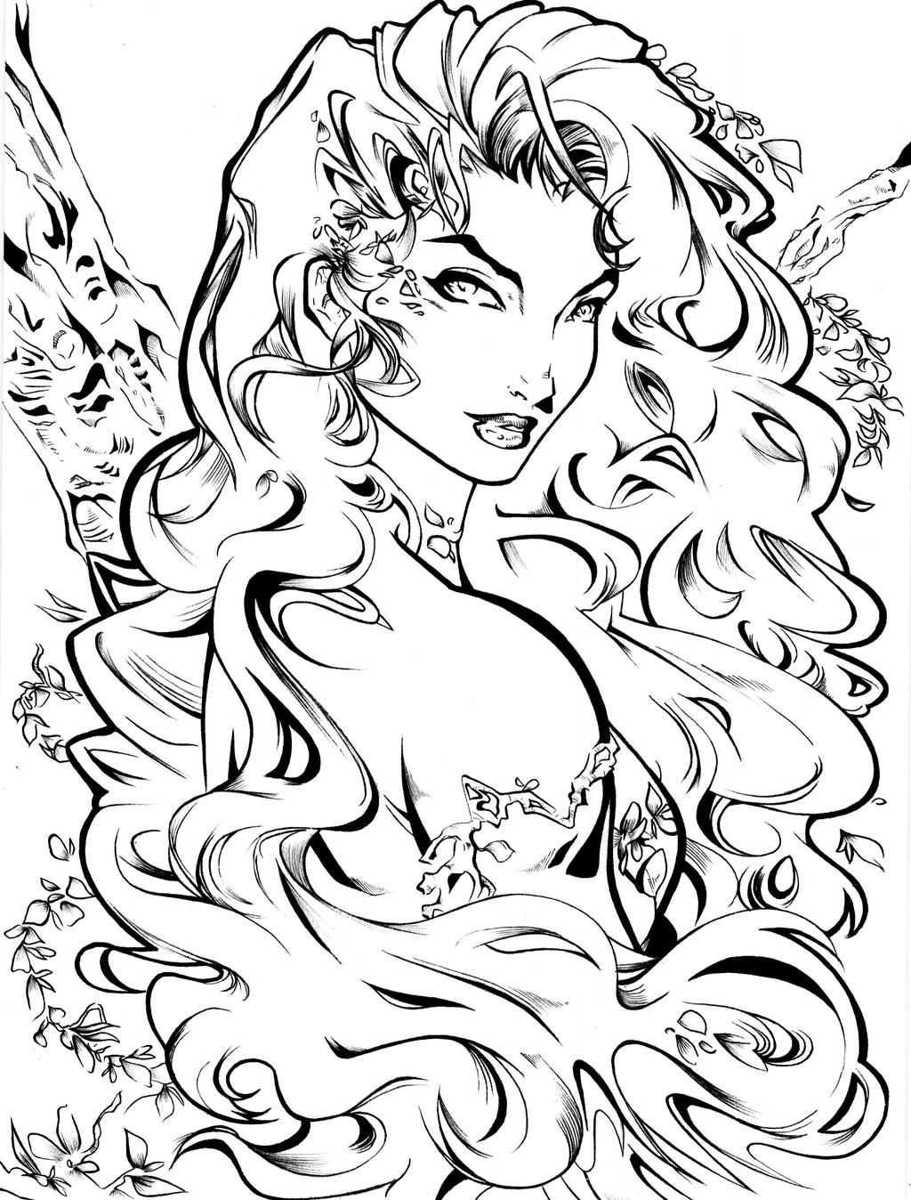 poison ivy colouring pages poison ivy by jollyjack on deviantart colouring pages ivy poison