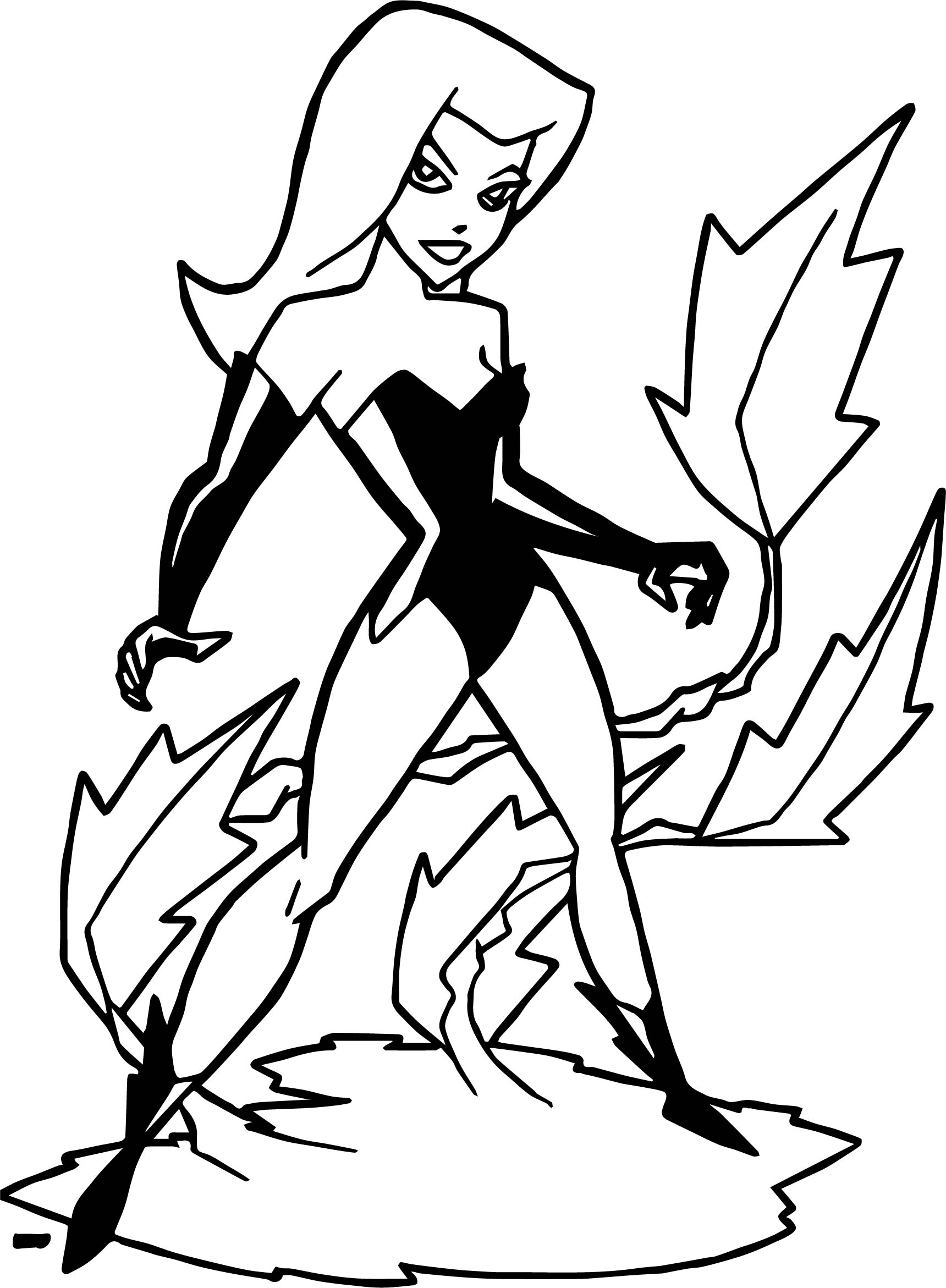 poison ivy colouring pages poison ivy coloring pages sketch coloring page ivy colouring poison pages