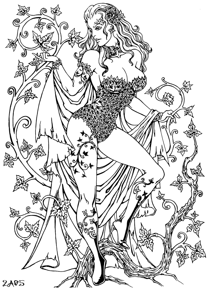 poison ivy colouring pages poison ivy colour me by yoell on deviantart colouring poison pages ivy