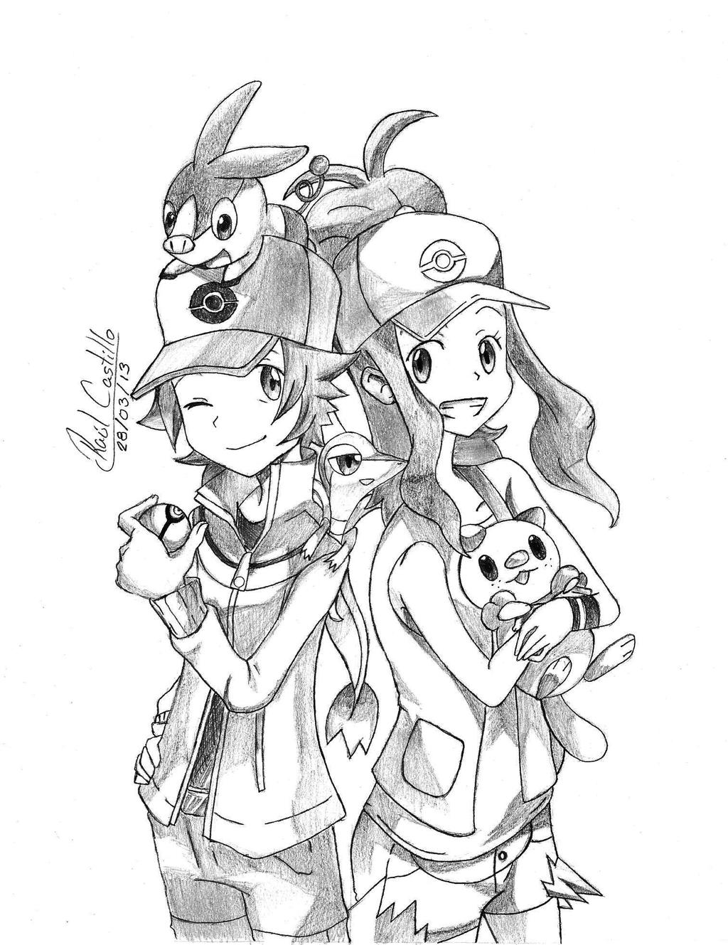 pokemon black and white pokemon drawing squirtle bulbasaur charmander and white pokemon black