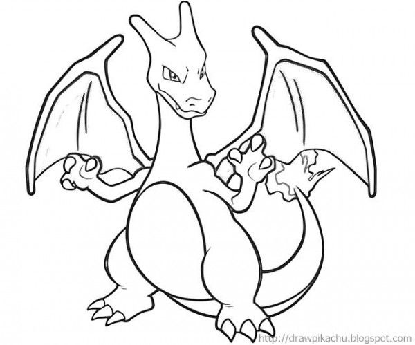 pokemon coloring pages charizard cute little charizard coloring page netart pages charizard pokemon coloring