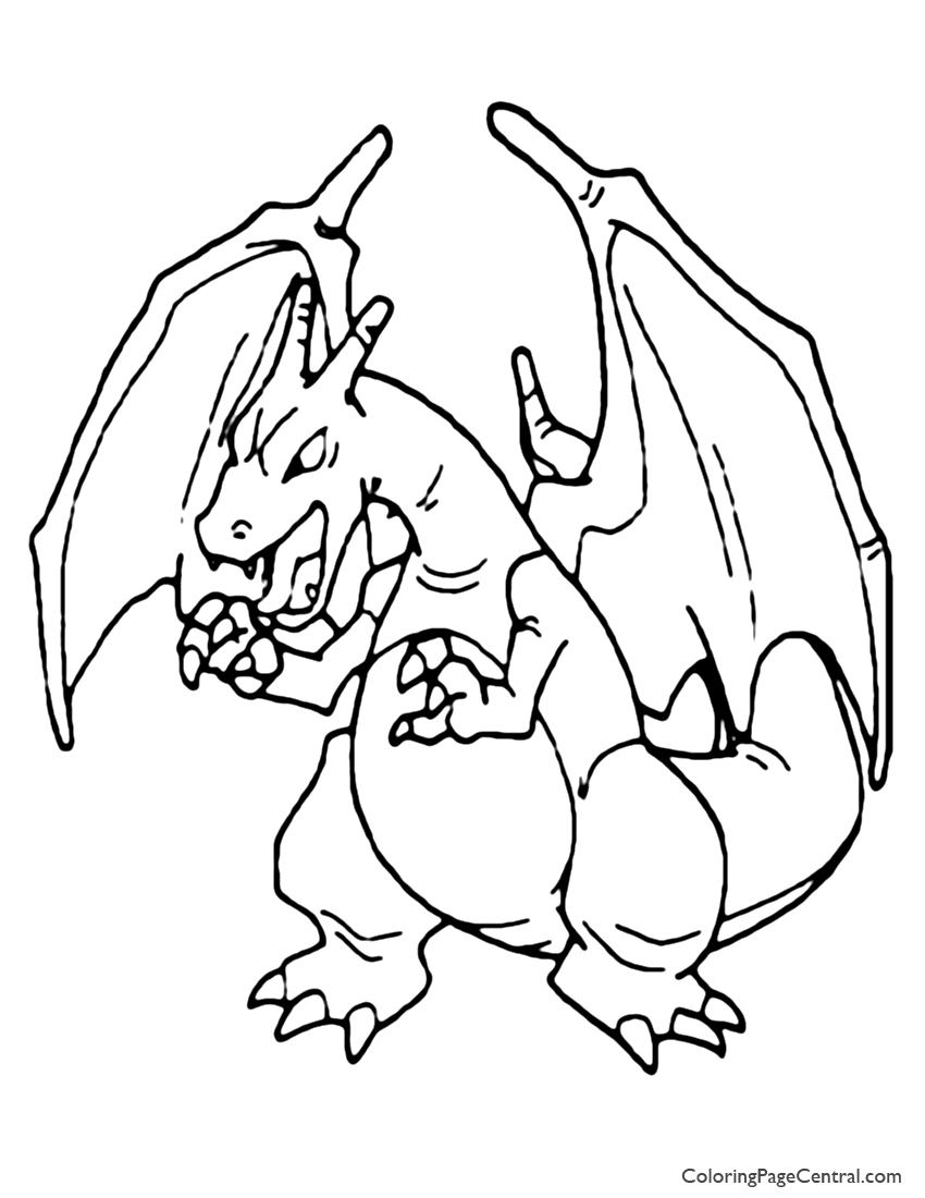 pokemon coloring pages charizard mega charizard x coloring page coloring home coloring charizard pokemon pages