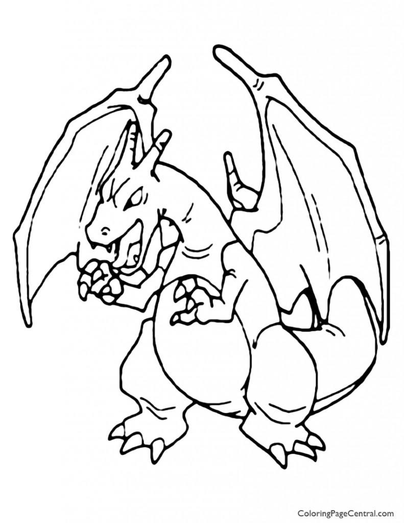 pokemon coloring pages charizard mega charizard x pokemon coloring page free pokémon pokemon charizard pages coloring