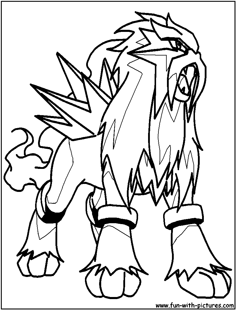 pokemon coloring pages legendary dogs pokemon coloring pages legendary free online game pikachu pages legendary dogs coloring pokemon