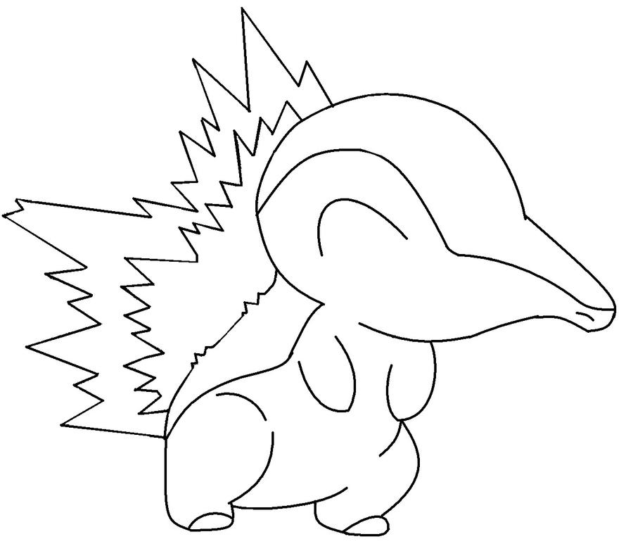 pokemon cyndaquil coloring pages color in cyndaquil by newdeadmaninc on deviantart coloring cyndaquil pokemon pages