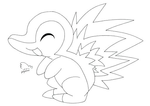 pokemon cyndaquil coloring pages pokemon coloring pages cyndaquil at getcoloringscom pages cyndaquil pokemon coloring