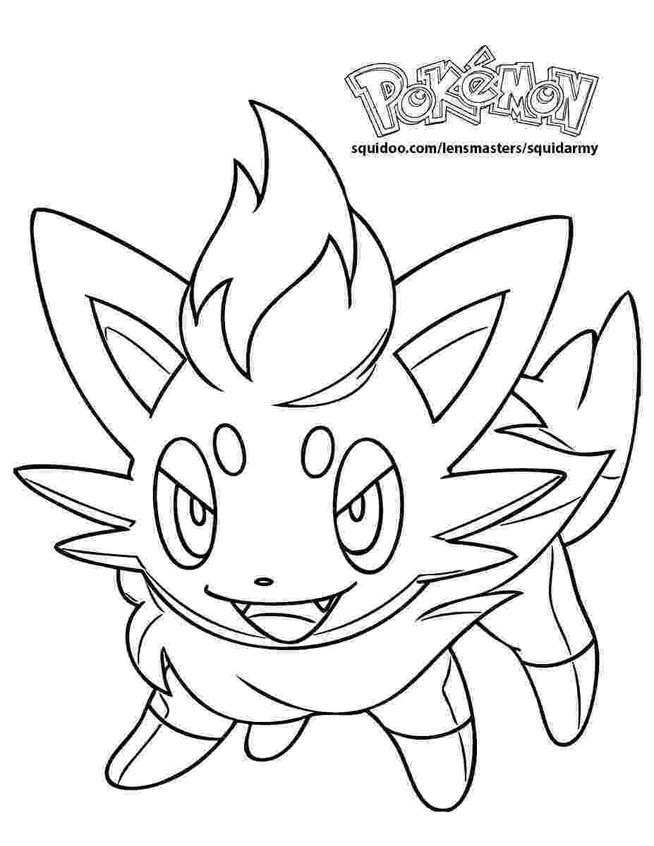 pokemon to color pokemon coloring pages squid army color to pokemon