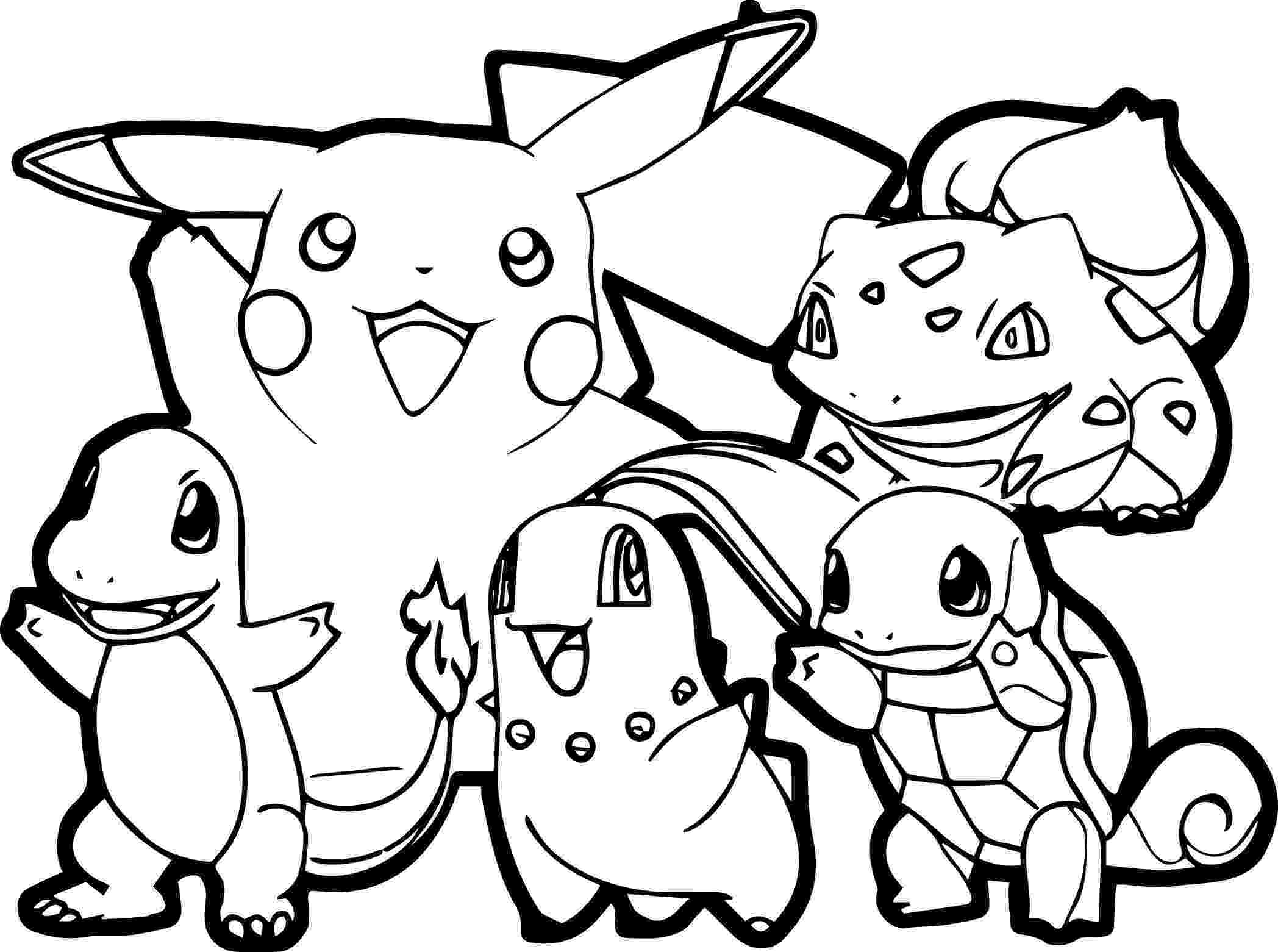 pokemon to color pokemon for children all pokemon coloring pages kids to pokemon color