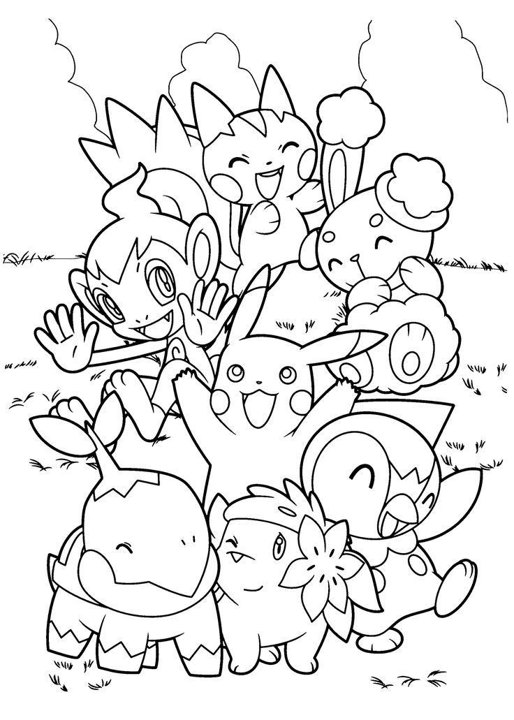 pokmon pictures pokemon coloring pages pikachu and ash google search pictures pokmon