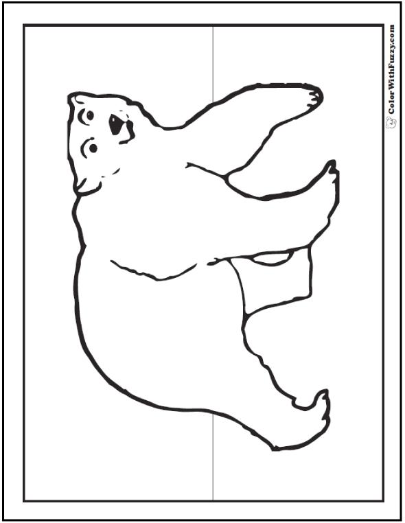 polar bear printables 16 polar bear coloring pages arctic giants cute babies polar bear printables