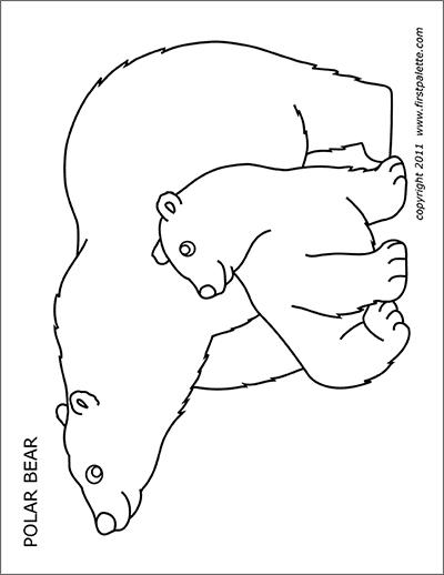polar bear printables animal printables page 3 free printable templates polar printables bear