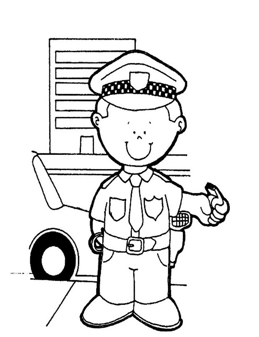 police coloring page free printable policeman coloring pages for kids coloring page police