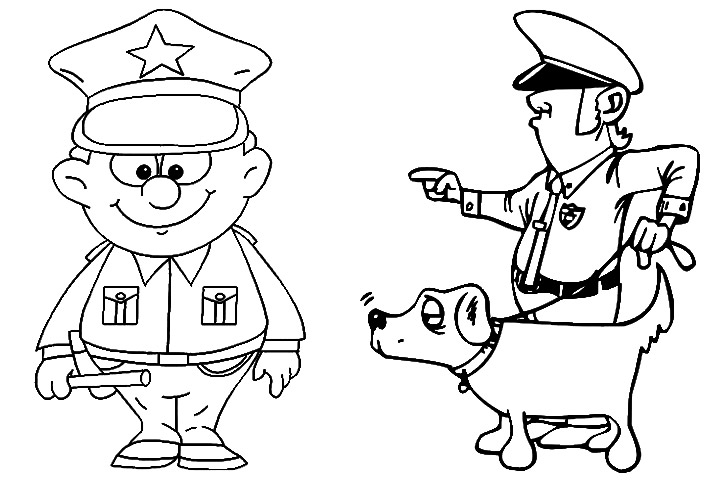 police coloring pages free coloring pages printable police man coloring pages coloring police pages