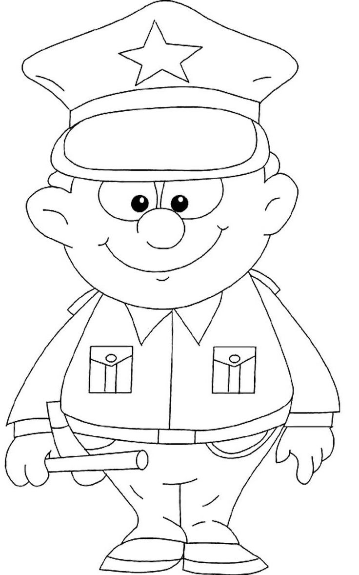 police coloring pages free printable policeman coloring pages for kids pages coloring police