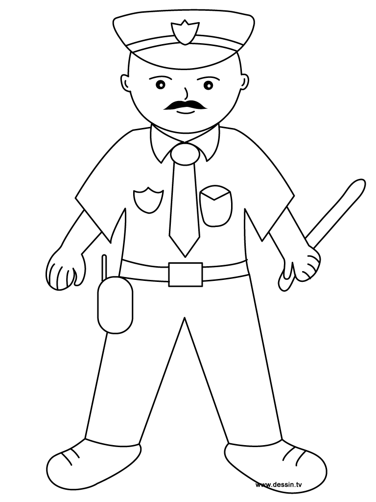 police officer coloring pictures police coloring pages getcoloringpagescom coloring police pictures officer