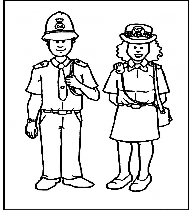 police officer coloring pictures police officer 57 jobs printable coloring pages coloring officer pictures police