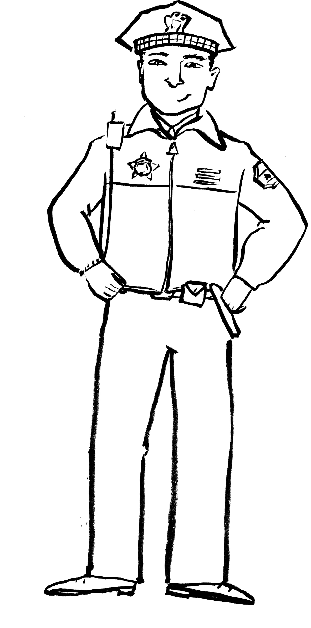 police officer coloring pictures police officer coloring pages clipart panda free police officer coloring pictures
