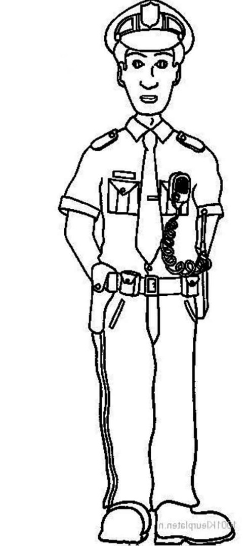 police officer coloring pictures police officer coloring pages coloring officer pictures police