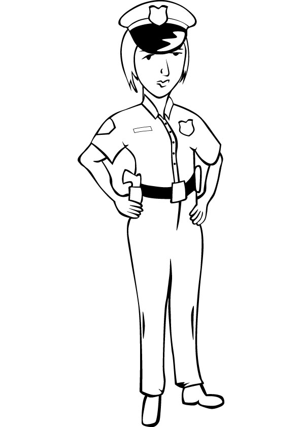 police officer coloring pictures police officer coloring pages coloring officer police pictures